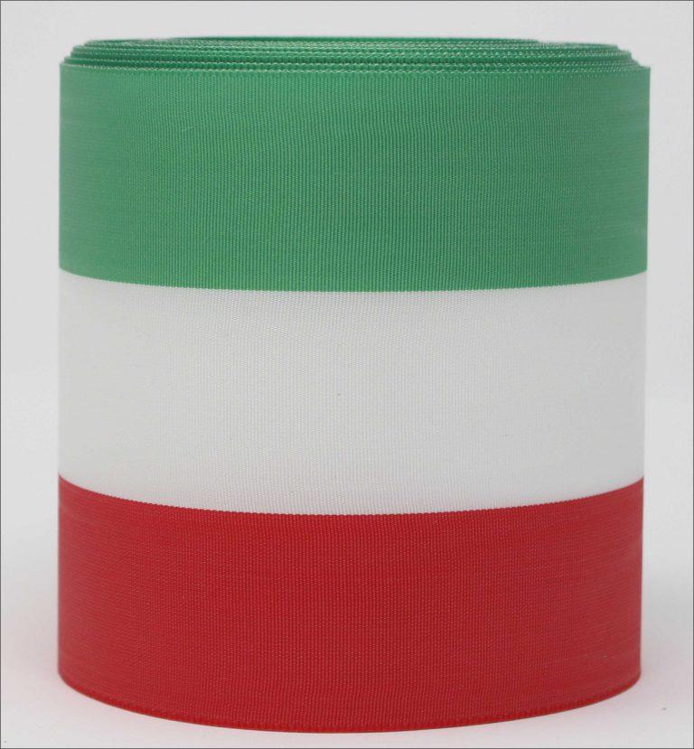 "Bandfarben ""grün-weiß-rot"""