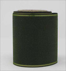 """Bandfarben """"jägergrün und goldrand"""""""