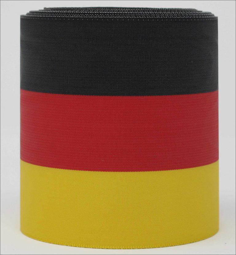 """Bandfarben """"schwarz-rot-gelb"""""""